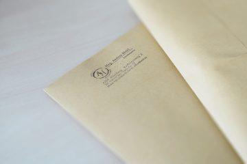 Dokumente können auch postalisch versandt bzw. empfangen werden